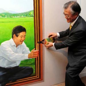 狙うは1分台、記録更新なるか?トランプ大統領訪韓が決定!⇒ 韓国人「歴史史上、最も短い会談になる」