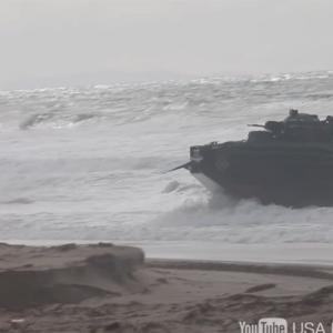 韓国人「日本の水陸機動団が米海兵隊と共同訓練を行った動画を見てみよう」
