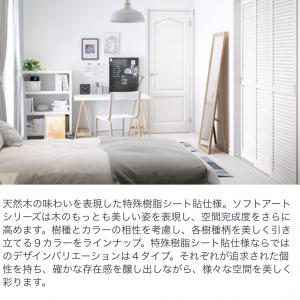 🍀室内のドア達(ウッドワン・ソフトアート)とドアの開き方