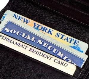 Social Security Number/銀行/運転免許