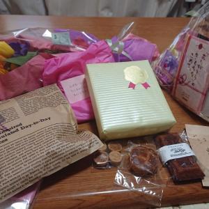 離任式、たくさんの贈り物をありがとう