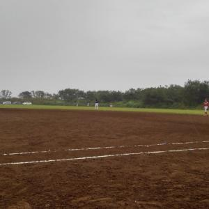 雨のち晴れのじじぃ草野球❗