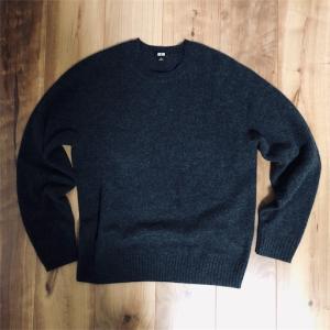 偏見を捨てるきっかけの一つ・ユニクロのプレムアムラムのセーター。