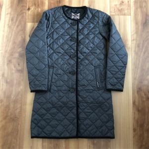 買って良かった!ラベンハム のラウンドネックキルティングコート。