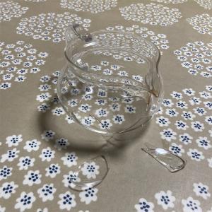 ガラスの急須を割った→やっぱりHARIOを買い直し。