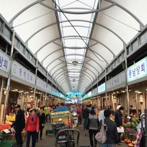 韓国ソウルへ家族旅行 2017.5 2日目 京東市場・ソウル薬令市場で韓方買いまくり、そして胡麻油の有名店へ。夜ご飯はカロスキル近くの有名店・チョンジャメウンカルビチム!