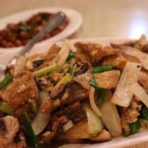 鳳冰果舖(米宿)オーナー家族とディナー。日月食堂はメニューのないお店  3日目@台湾旅行7回目 2019.6 台南・台北