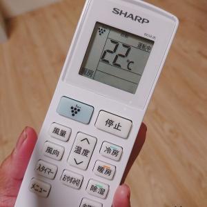 最近のエアコンはこんなに暖かいんだと感動する