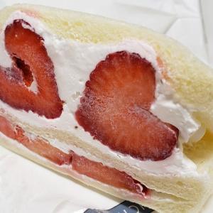 【第8回阪急パンフェア】青果店のこだわり苺の美味しさ!「あまおう苺サンド(イチバンヤフルーツカフェ)」