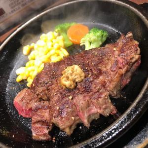 18日 食べ歩き!いきなりステーキ♡♡