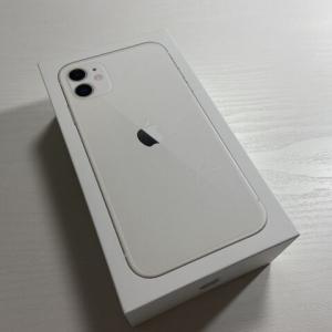 iPhone8が割れてしまったのでiPhone11に買い替えました