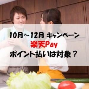 楽天Pay(ペイ) 5パーセント還元キャンペーン!他社のクレカ、ポイント払いは対象?