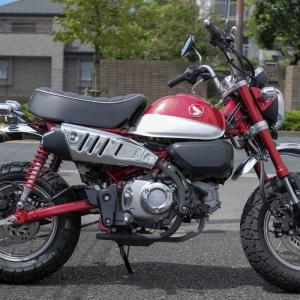 可愛いさしかないホンダのレジャーバイク「モンキー 125」に乗ってみました