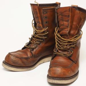 革靴をメンテナンスしよう〜レッドウィングの定番モデル「877」〜