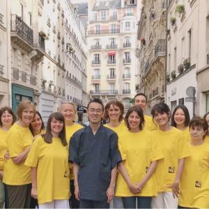 2017年8月 パリ講習会の写真です