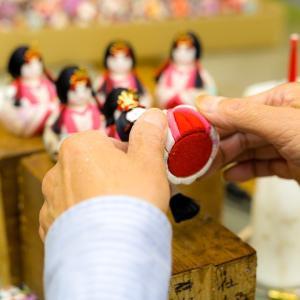 日本の職人技!雛人形作り