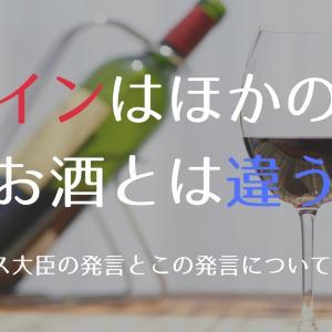 「ワインは他のお酒とは違う」物議を醸したフランス大臣の発言とその反応について考える