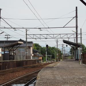 富山地鉄・中加積駅を訪問しました