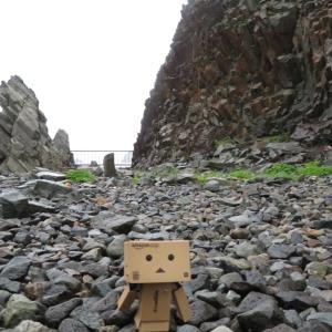 函館市 異世界感あふれる柱状節理の日浦岬
