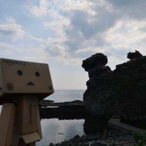 神恵内村 ちょっと想像力が必要だったキス熊岩