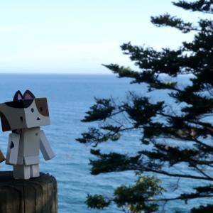 豊浦町 カムイチャシ史跡公園展望台から