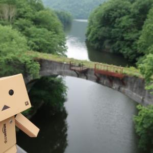 上士幌町 旧士幌線アーチ橋の第三音更川橋梁