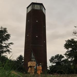 南幌町 「ふきのとう」という名の塔にて