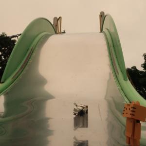 豊浦町 意外とすごかった、噴火湾展望公園の遊具広場