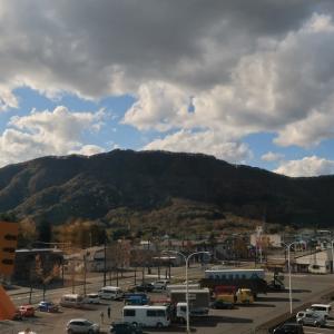 日高町 日高山脈博物館の展望台から