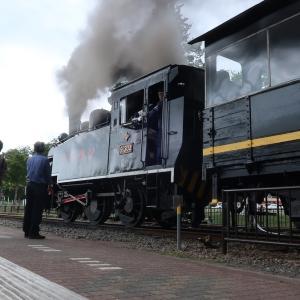 三笠市 北海道の鉄道の始まりの地、三笠鉄道記念館にて