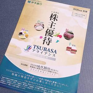 伊予銀行(8385)の株主優待カタログ到着!愛媛県特産品が載ったカタログの中身を紹介します!