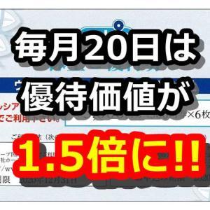 【20日は優待価値1.5倍に!】ウエルシアHD(3141)の株主優待を紹介、Tポイントを選択してお得にウエル活をしよう!
