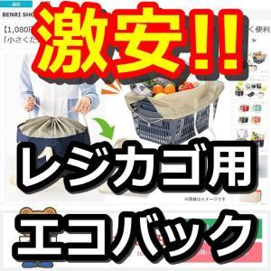 激安レジカゴエコバックをくまポンで購入!GMOインターネットの株主優待クーポン利用で580円!!