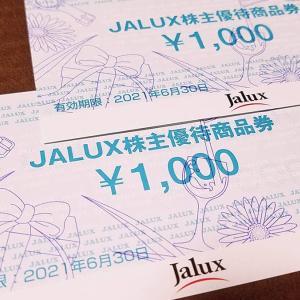 JALUX(2729)の到着した株主優待券を紹介!通販カタログやJALプラザTABITUS+STATION、BLUE SKY、JAL DUTYFREEなどで使えます!