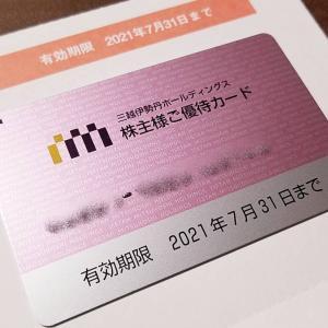 勘違いしてた…三越伊勢丹ホールディングス(3099)の到着した株主優待を紹介!株主優待カード限度額が半額に…