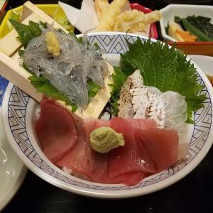 【令和初優待飯】海鮮三色丼を食す!