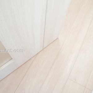 Web内覧会【一条工務店i-smart(アイスマート)入居前】#14ライト・ウォールナットの床 × ホワイト・ウォールナットの建具
