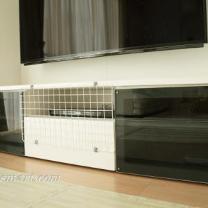 テレビボード(テレビ台)への赤ちゃんのいたずらを防止する方法
