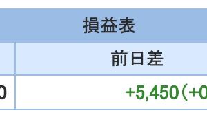 FXとと株の9月3週目収支報告
