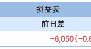 FXとと株の1月3週目収支報告
