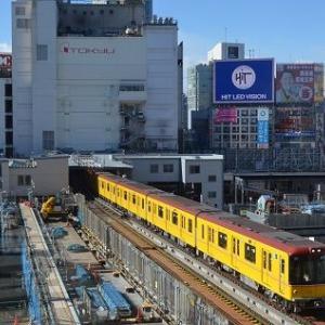 銀座線渋谷駅切換工事で新ホームへの移転が行われる件