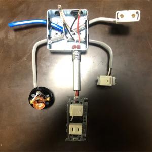 電気工事2種 実技課題No.11 アウトレットボックスとねじなし金属管