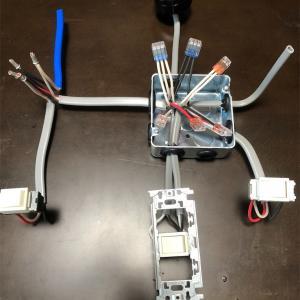 電気工事2種 実技課題No.7 3路スイッチ・4路スイッチ回路