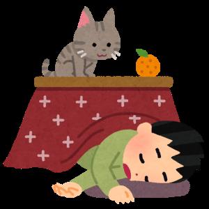 圧倒的省電力 日本の冬はコタツで節電!