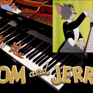 """感謝!!40万人 – トムとジェリー「ピアノ・コンサート」ハンガリー狂詩曲第2番-リスト-Tom and Jerry """"The Cat Concerto"""" -ピアノ-piano-CANACANA"""