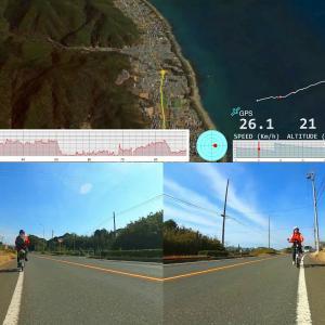 【宿泊旅行情報サイト】[Japan travel site]伊良湖岬サイクリング day2(Airwheel R6 電動バイク)
