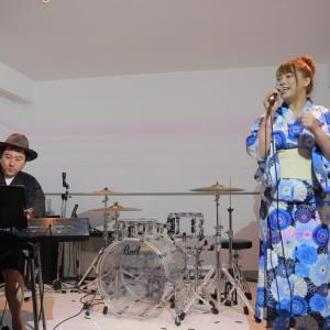 加藤樹里果2019/8/17ピアノライブ(with田中大介さん)写真を公開!