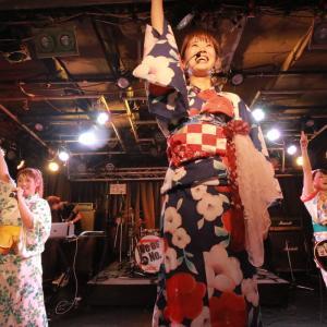 明日(8/29)女子独身倶楽部の100回目の主催ライブです!!