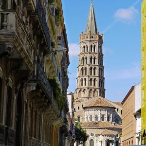 ミディピレネー(Midi-Pyrénées)地方の町、トゥールーズ (Toulouse)をお散歩