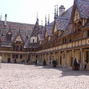 Baune(ボーヌ)のHôtel Dieu(オテルデュー)博物館